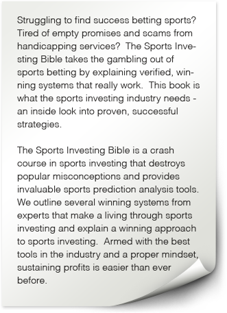 Sports betting systems books of the bible in order 9 2 odds in betting means