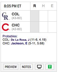 Contienda de predicciones MLB