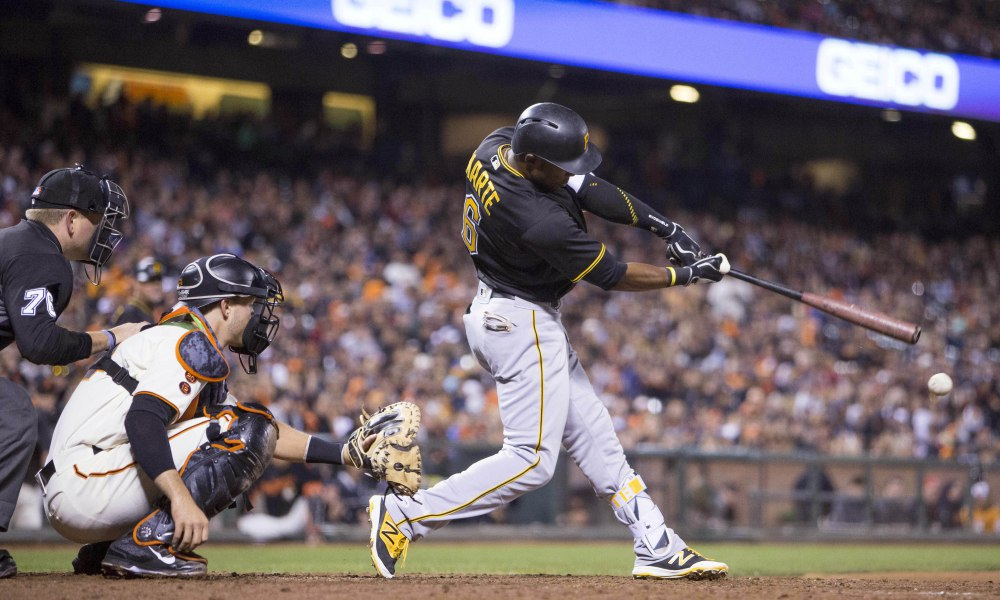 USP MLB: PITTSBURGH PIRATES AT SAN FRANCISCO GIANT S BBN USA CA