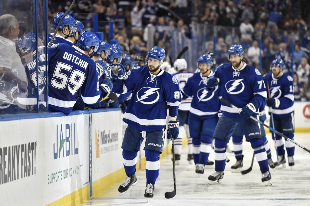 NHL: FEB 21 Oilers at Lightning