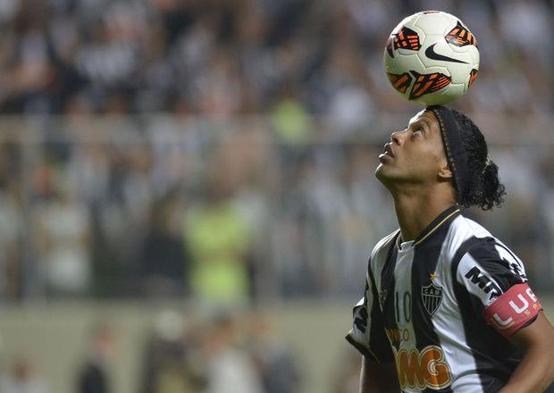Ronaldinho Gaúcho llevó al Atlético Mineiro a ganar la Copa Libertadores el año pasado.