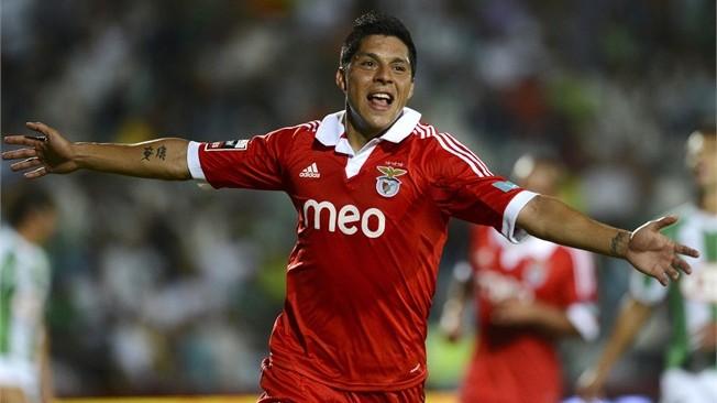 El argentino Enzo Pérez, mediocampista del Benfica, estará presente en Turín.