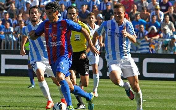 Selecciones deportivas Zcode partido Málaga - Levante