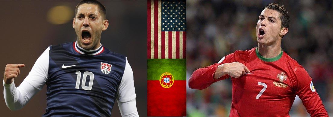 Clint Dempsey y Cristiano Ronaldp dirigirán los esfuerzos de sus equipos en la cancha