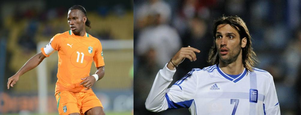 Samaras necesita ganar a Drogba le sobra con el empate.