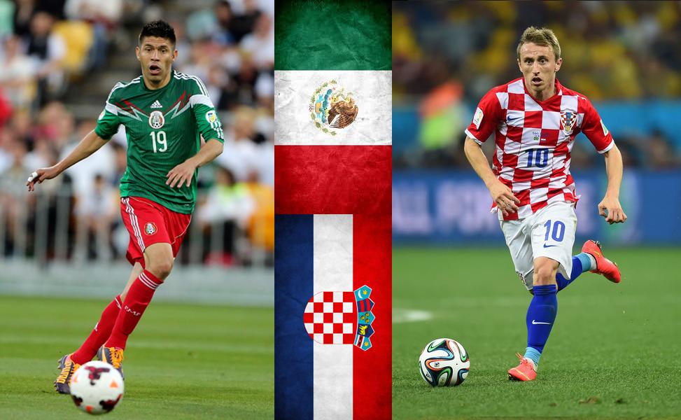 Oribe Peralta buscará anotar por Méxoco ante Croacia de Luka Modric