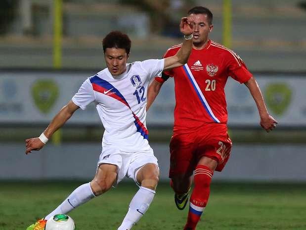Rusos y surcoreanos se enfrentaron en noviembre del año pasado.