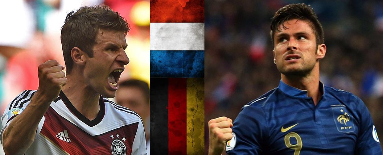 Thomas Muller y Olivier Giroud protagonizarán un vibrante encuentro