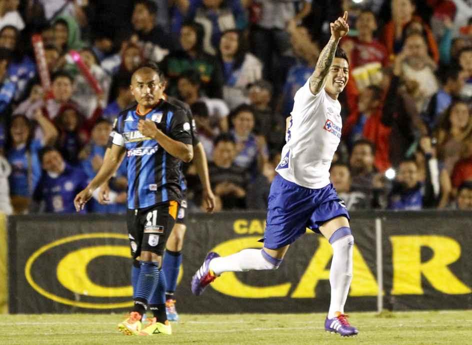 Rogelio Chávez espera anotar ante la sequía de goles celestes