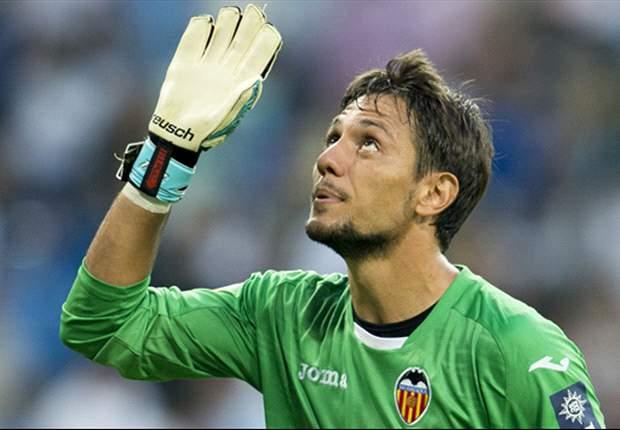 Diego Alves, arquero del Valencia.