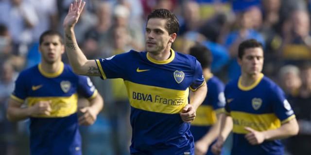 Fernando Gago, mediocampista de Boca Juniors que jugó el último Mundial para la selección Argentina.