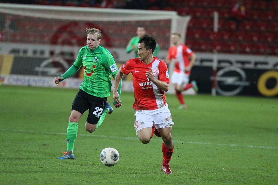 El japonés Shinji Okazaki es el hombre a seguir en el ataque del Mainz 05