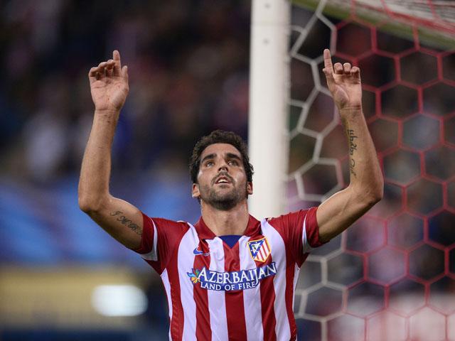 Raúl García, autor del empate en la ida para el Atlético de Madrid, que buscará la Supercopa que se le negó el año pasado.