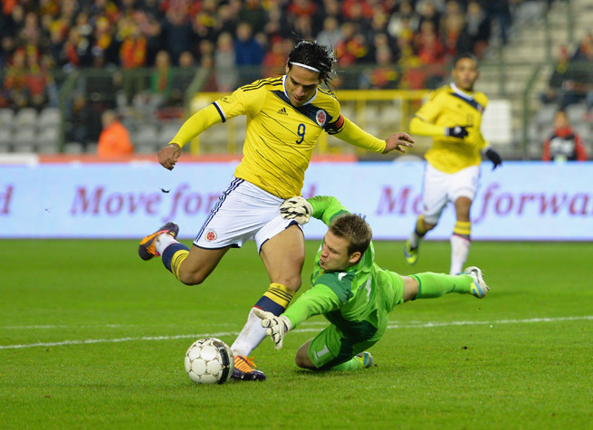 Radamel Falcao reaparece tras perderse el Mundial por lesión