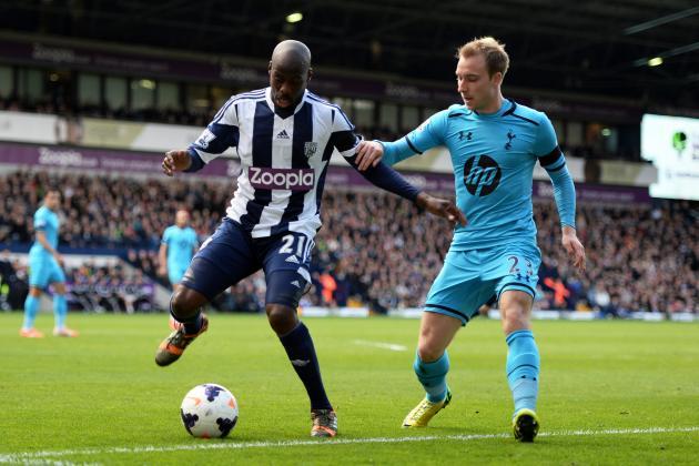 Los Baggies no han ganado desde 1984 en cancha del Tottenham Hotspur