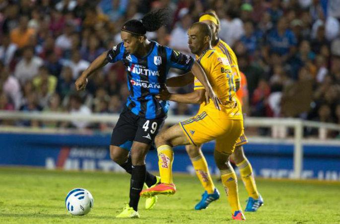 Ronaldinho quiere llegar a la Liguilla.