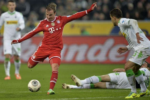 Mario Götze se ha convertido en referente del ataque de los Rojos