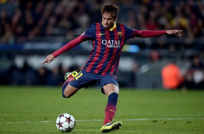 Neymar quiere los 3 puntos en Almería.