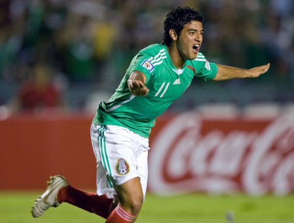 Carlos Vela regresa como centro delantero del Tricolor