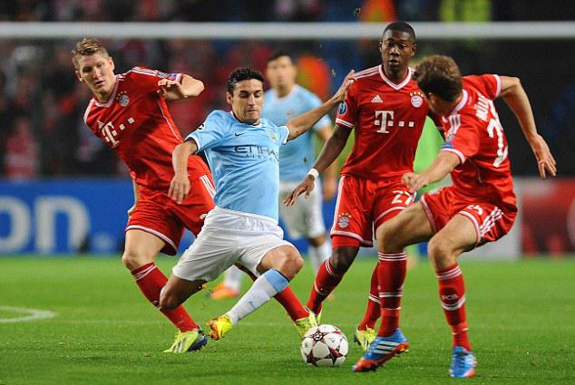 Con un cuadro minado recibe el City al Bayern