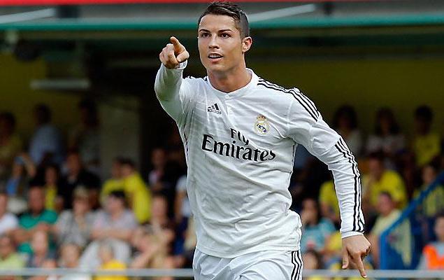 Cristiano Ronaldo será titular en la delantera del Madrid