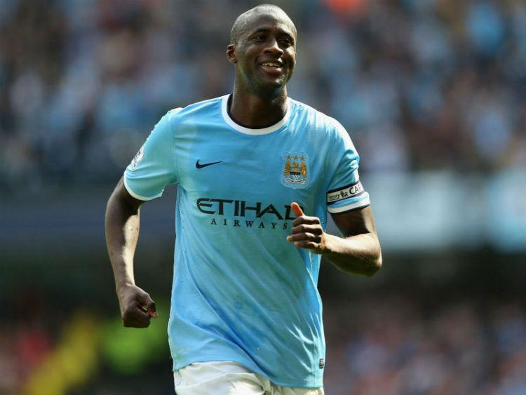 Yaya Touré llevará el peso ofensivo de los Citizens contra el Crystal Palace.