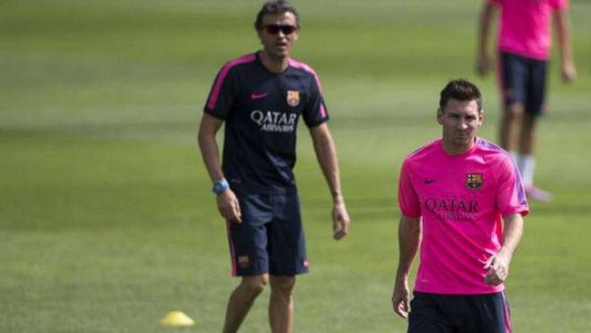 Messi no quiere ni ver a Luis Enrique.