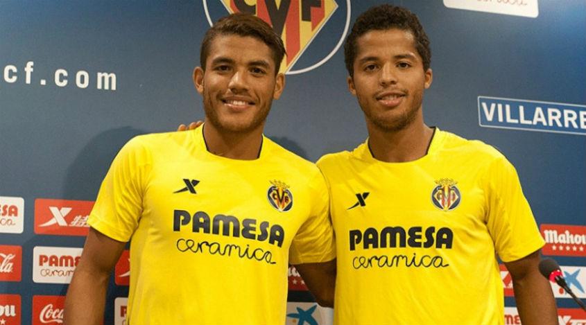 Los hermanos Dos Santos  quieren ganar en el Nou Camp a Messi.