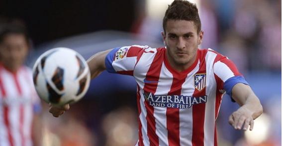 Koke, jugador fundamental para el Cholo, anotó en el empate frente al Valencia por la jornada 26. Buscará anotar en este encuentro.