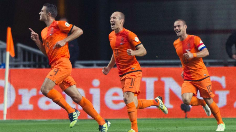 Van Persie y Robben no estarán en el partido Holanda-Turquía.