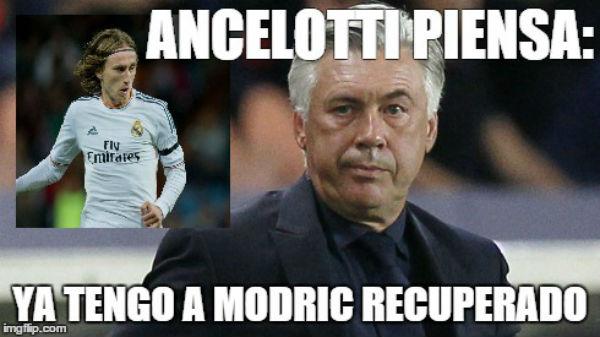 Modric ya está recuperado de su lesión.