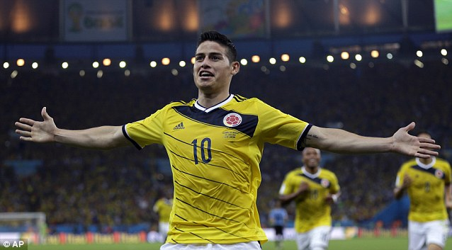 James Rodríguez (Colombia)