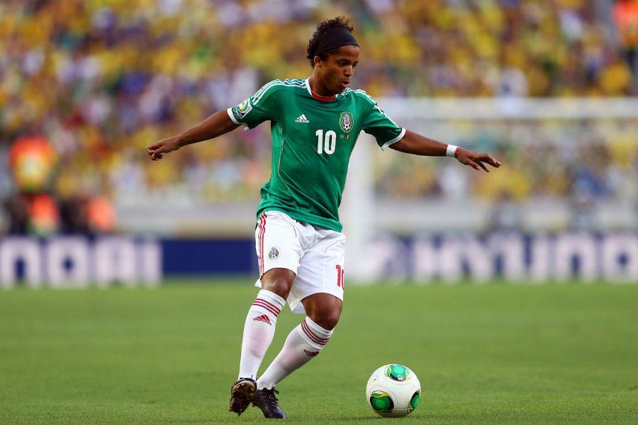 Giovani Dos Santos se perderá el partido de cuartos contra Costa Rica.