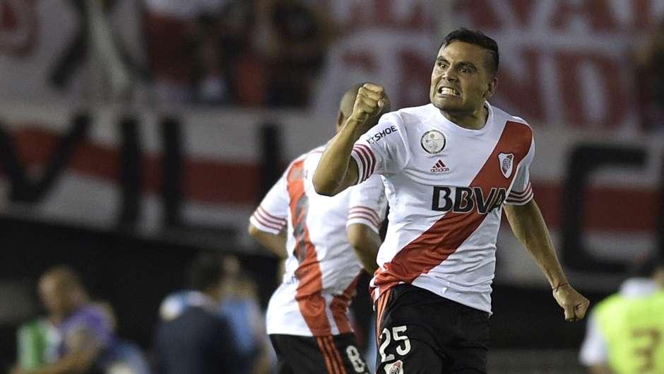 Gabriel Mercado, lateral de River, fue determinante en la obtención de la Copa Sudamericana, que los clasificó a la Suruga Bank.
