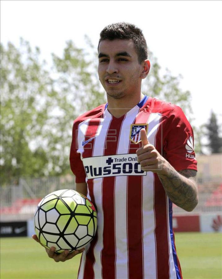 Correa tendrá que esforzarse ante el Real Madrid.