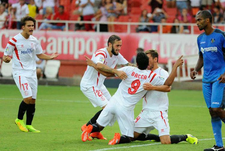 El Sevilla sólo ha ganado un partido desde el comienzo de la Liga.