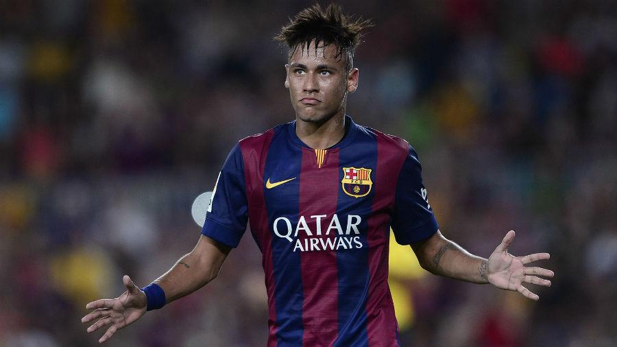 Neymar quiere ser protagonista ante el Getafe.