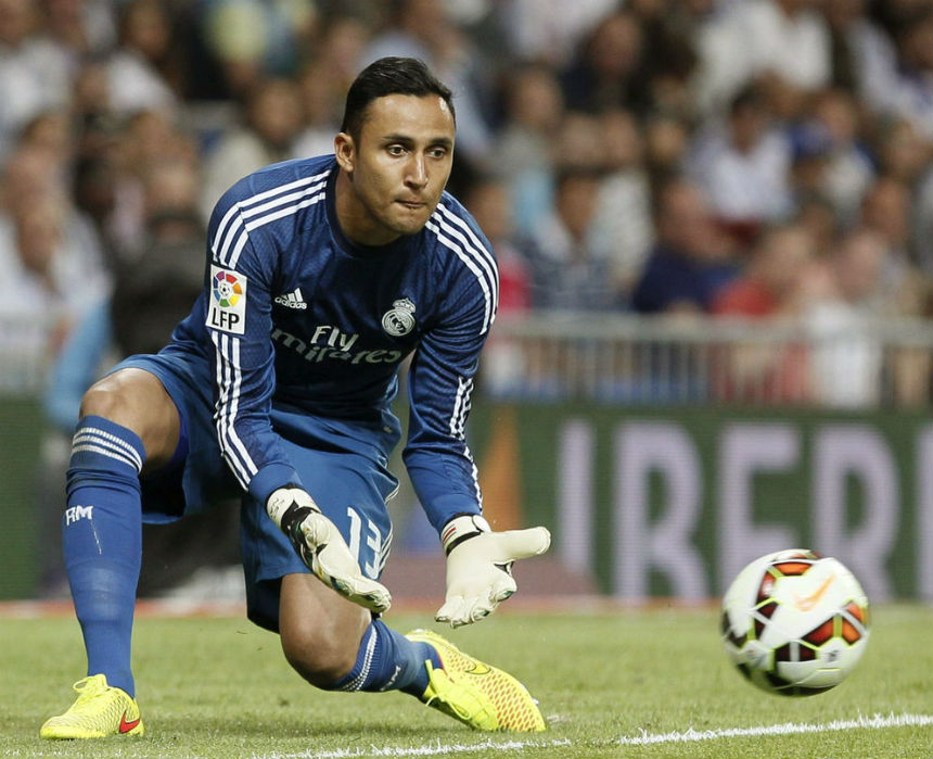 Keylor Navas es imprescindible para el Real Madrid.