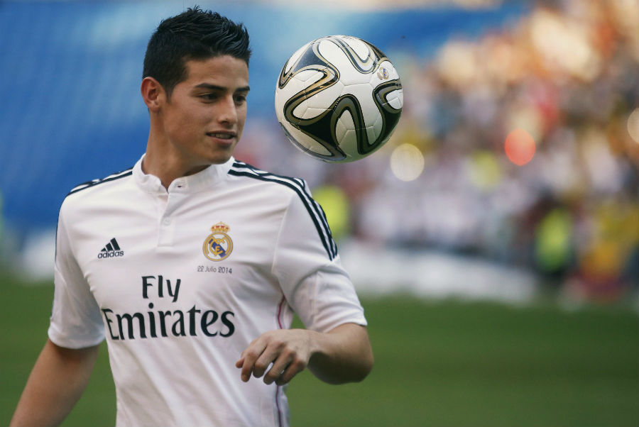 James será fundamental en el clásico Madrid-Barcelona