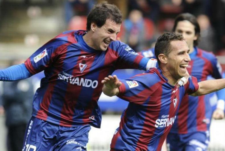 El Eibar celebra una temporada hasta ahora, muy meritoria.