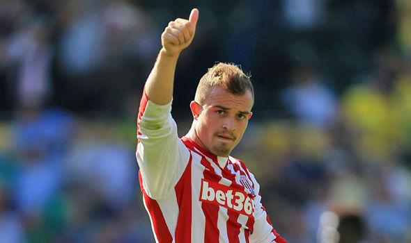 Xherdan Shaqiri (Stoke City)