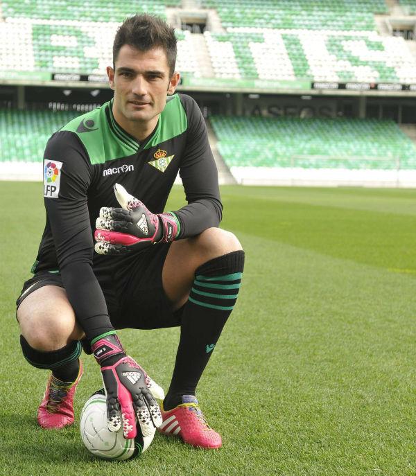 Adán será esencial para el Betis contra el Barcelona.