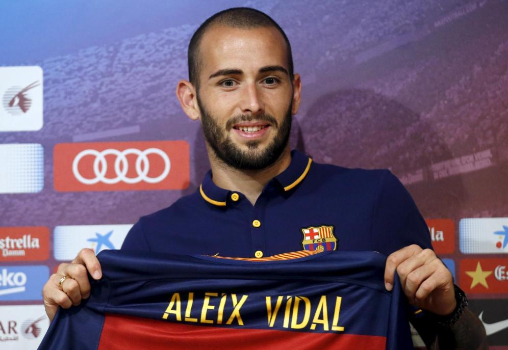 Aleix Vidal está dando resultados inmediatos al Barcelona.