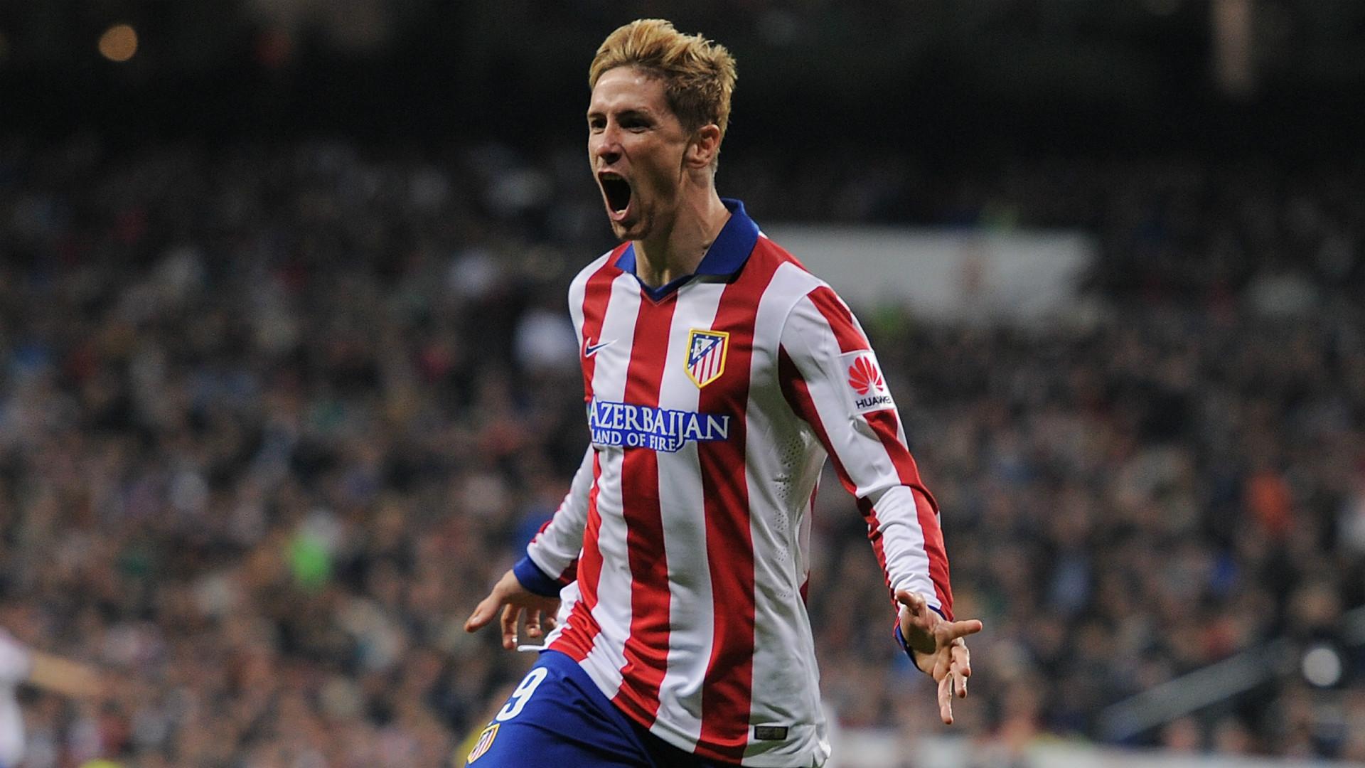 Fernando Torres marcó su gol número 100 con el Atlético tras meses de sequía.