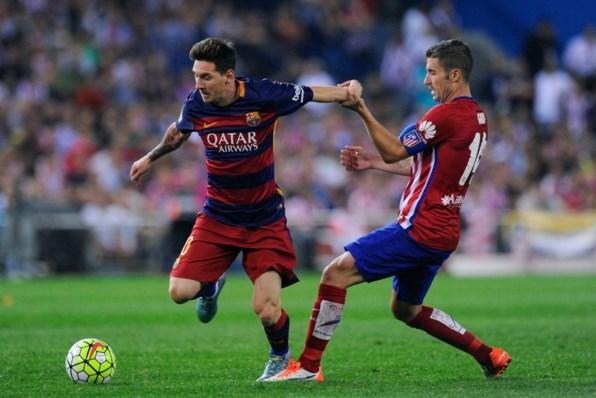 Messi busca su gol 500 frente al Atlético de Madrid.