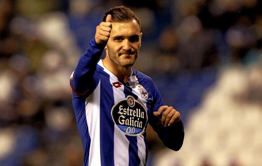 """Lucas Pérez le dará """"guerra"""" al Madrid."""