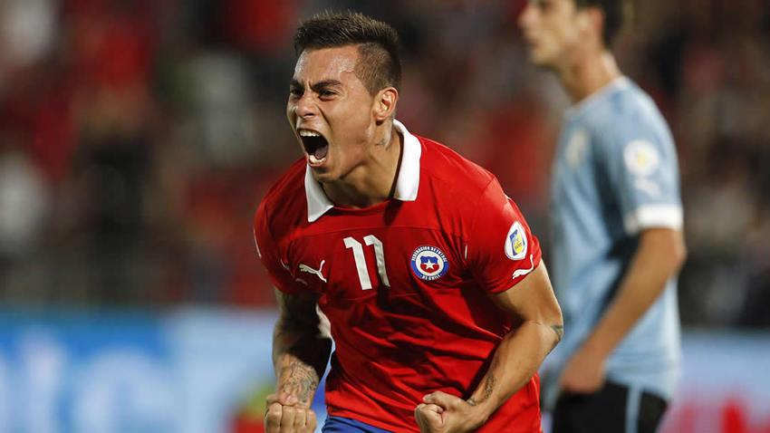 Vidal también quiere festejar contra Colombia.