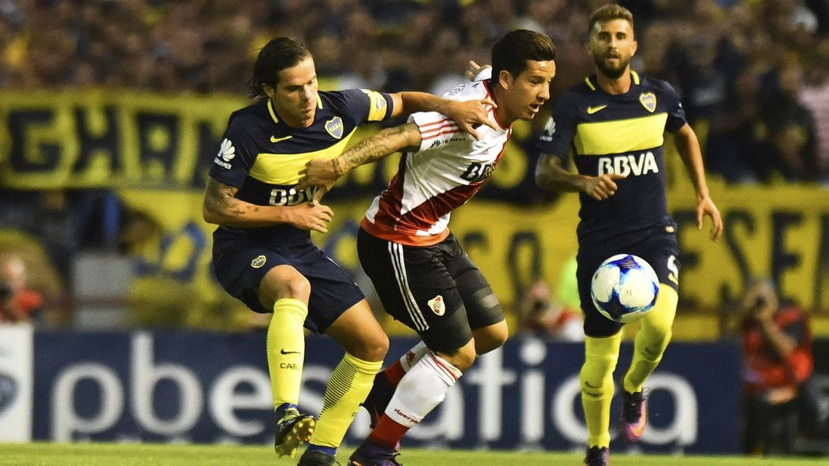 Superclásico is the football match in Argentina between Buenos Aires rivals Boca Juniors and River Plate It derives from the Spanish usage of clásico to mean